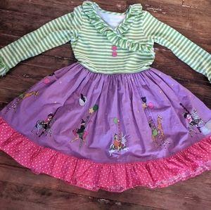 ER Girls Boutique Halloween Parade Dress 7 8